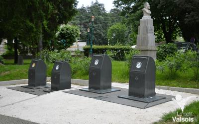 Enfouissement de poubelles à Vals-les-Bains