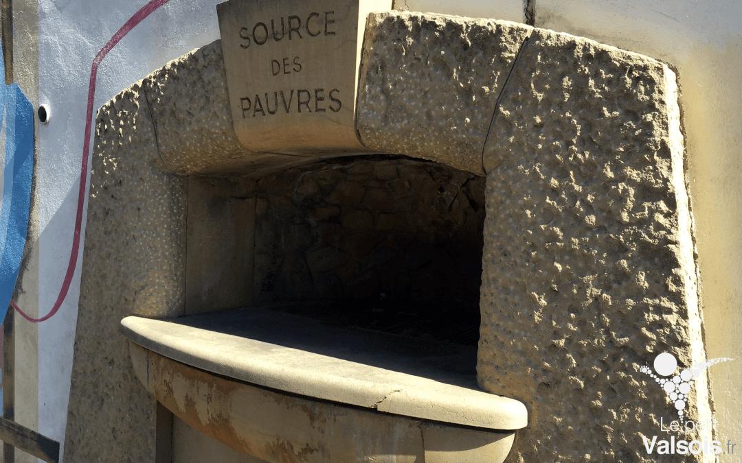 La Source des Pauvres à Vals-les-Bains
