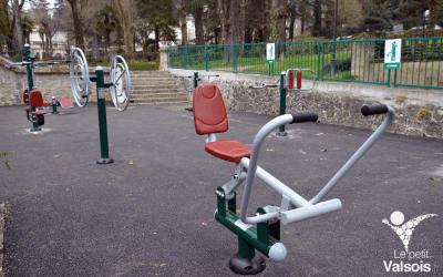 Les Agrès de Fitness du Parc Thermal