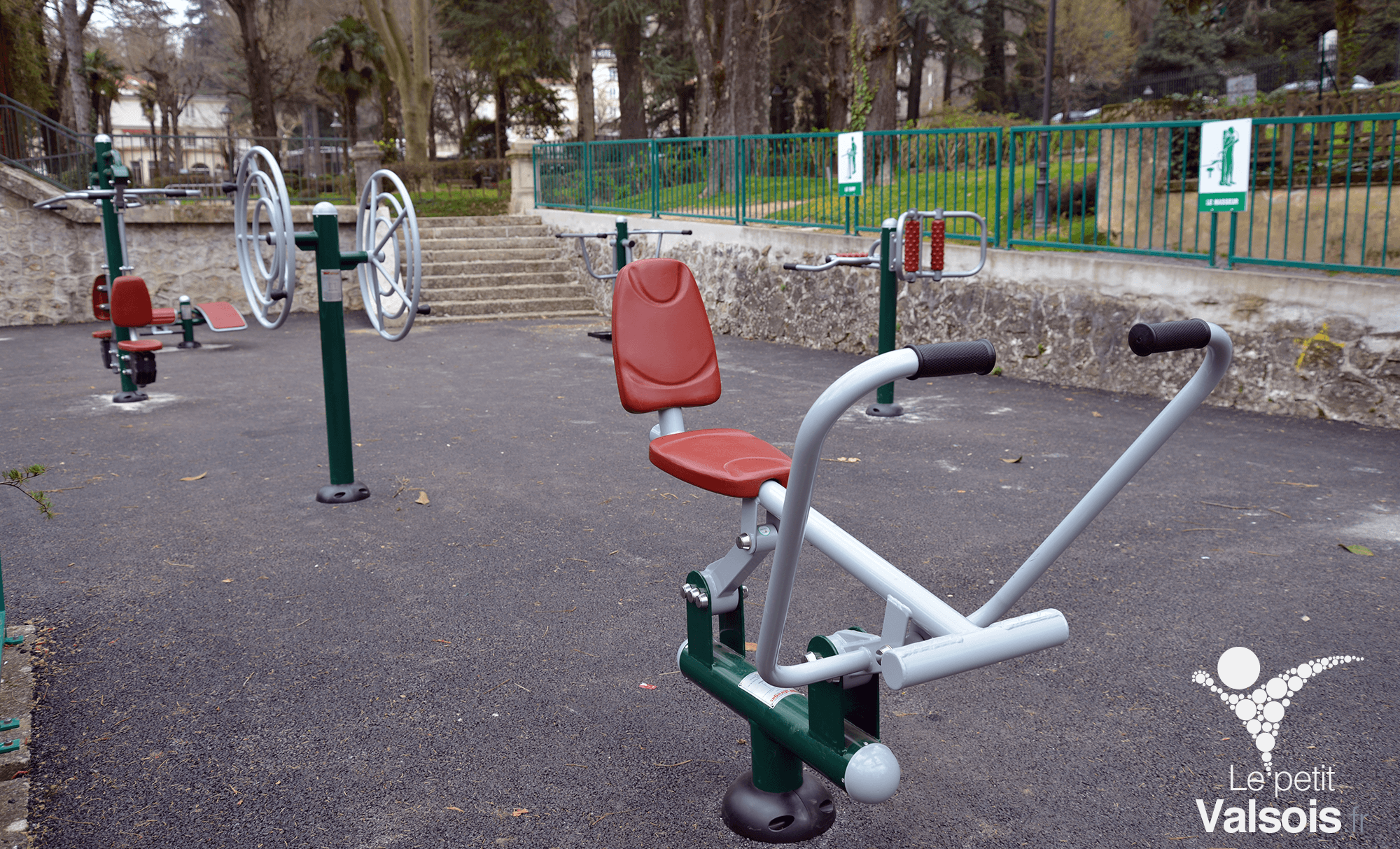 Les Agrès de Fitness du Parc Thermal