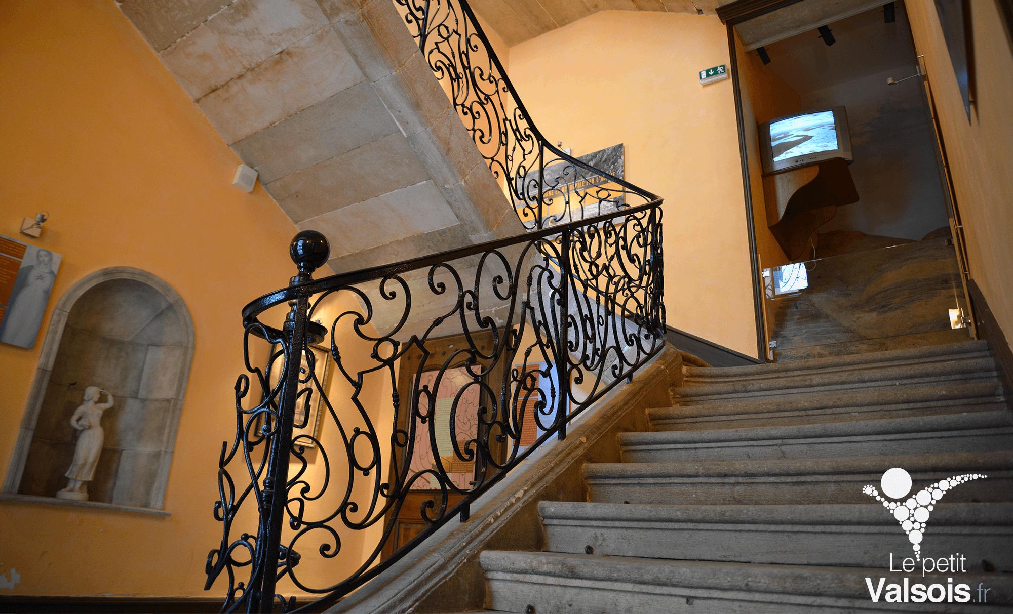 escalier maison champanhet