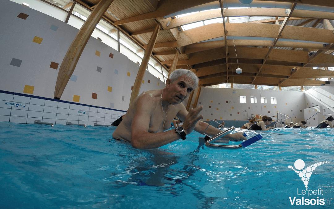 Aquabike aux Thermes de Vals-les-Bains : Gilbert a testé pour vous !