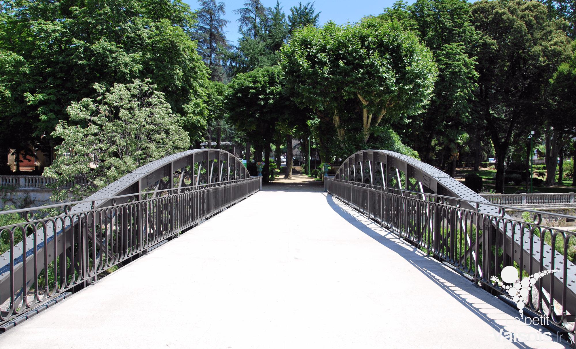 Le pont Eiffel de Vals-les-Bains