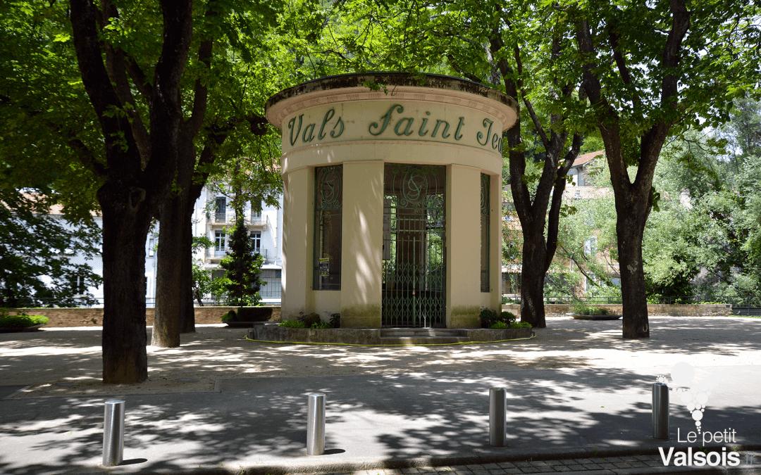 Le Pavillon de la Source Saint-Jean à Vals-les-Bains