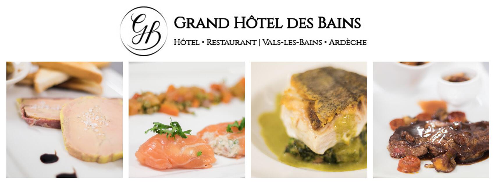 Apercu plats restaurant des bains le petit valsois for Restaurant bain les bains