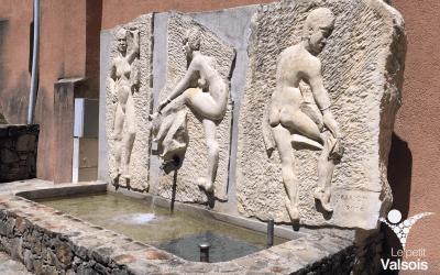 Les Trois Naïades du sculpteur Roger Marion