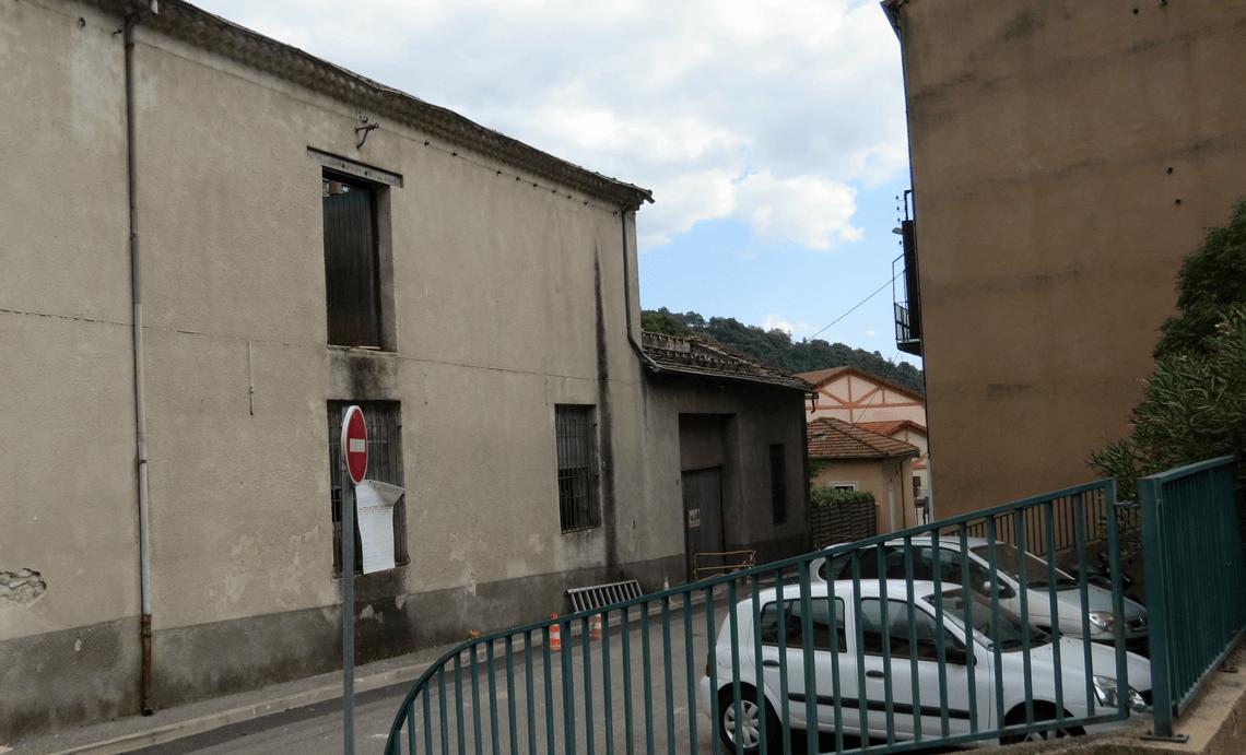 Construction de neuf logements dans la rue du Gué