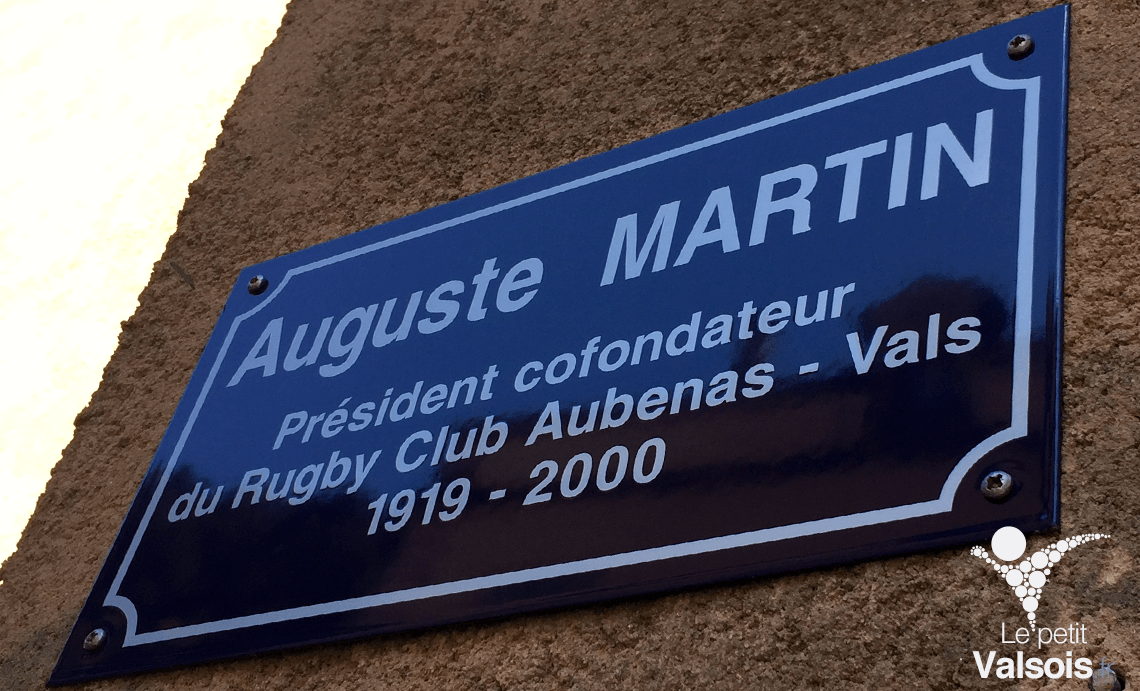 Inauguration de la Place Auguste Martin