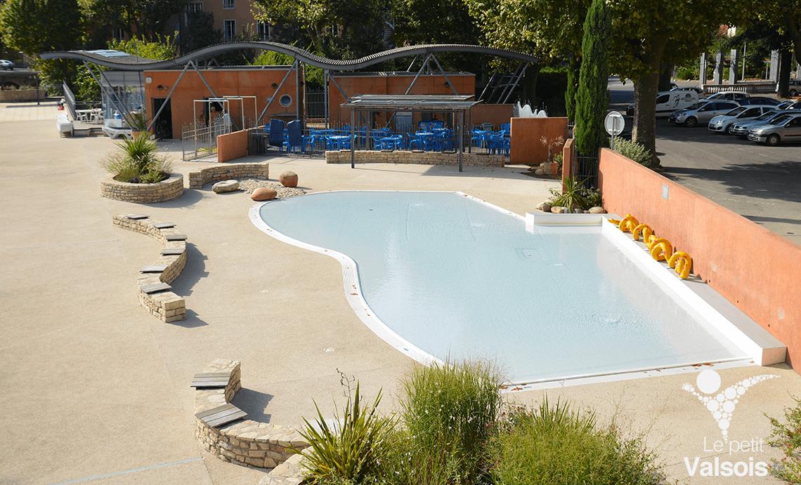 pataugeoire piscine municipale vals-les-bains