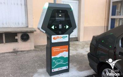 Borne de recharge pour les véhicules électriques