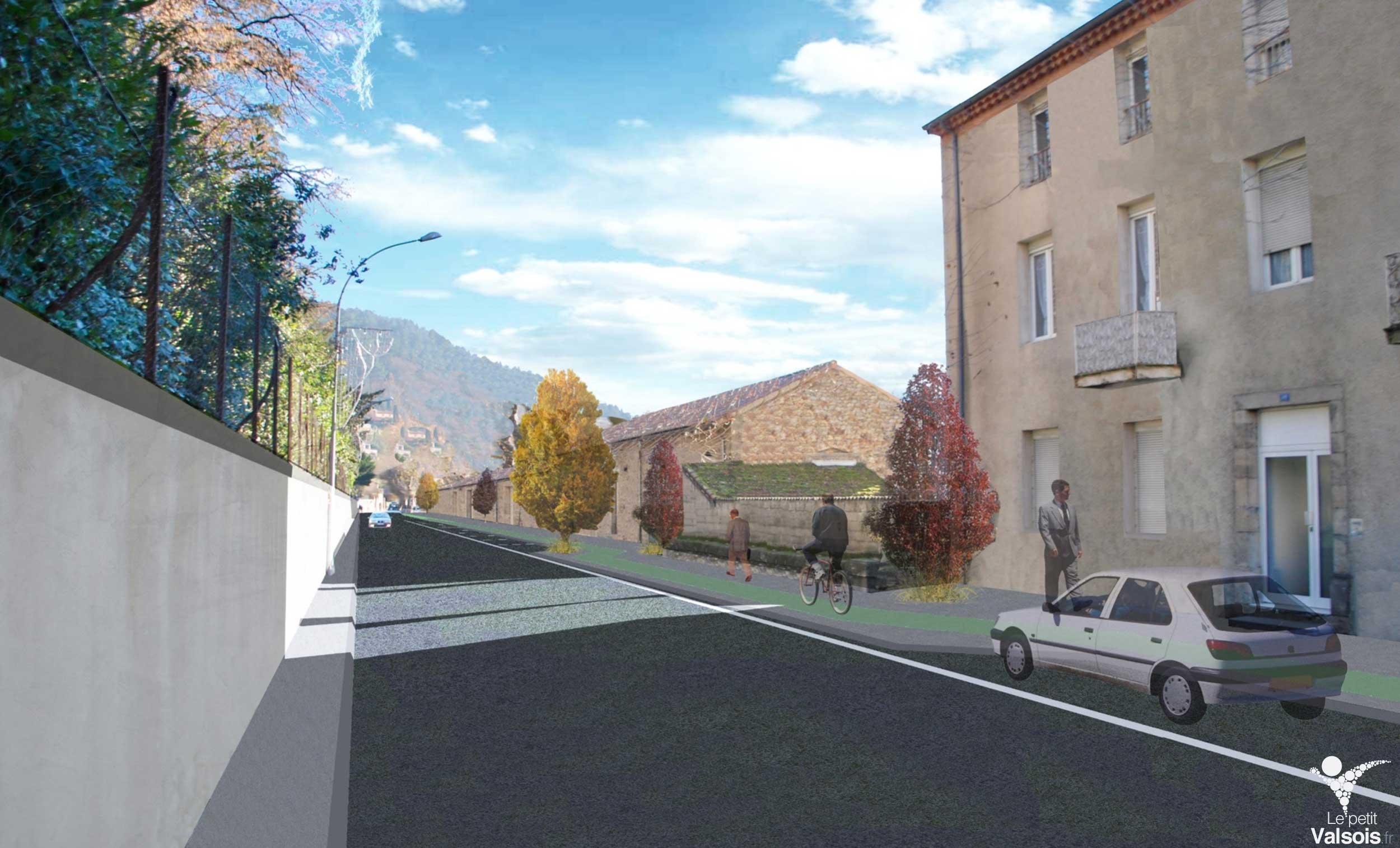 Boulevard de Vernon – Le plus important chantier d'aménagement urbain depuis 10 ans est lancé