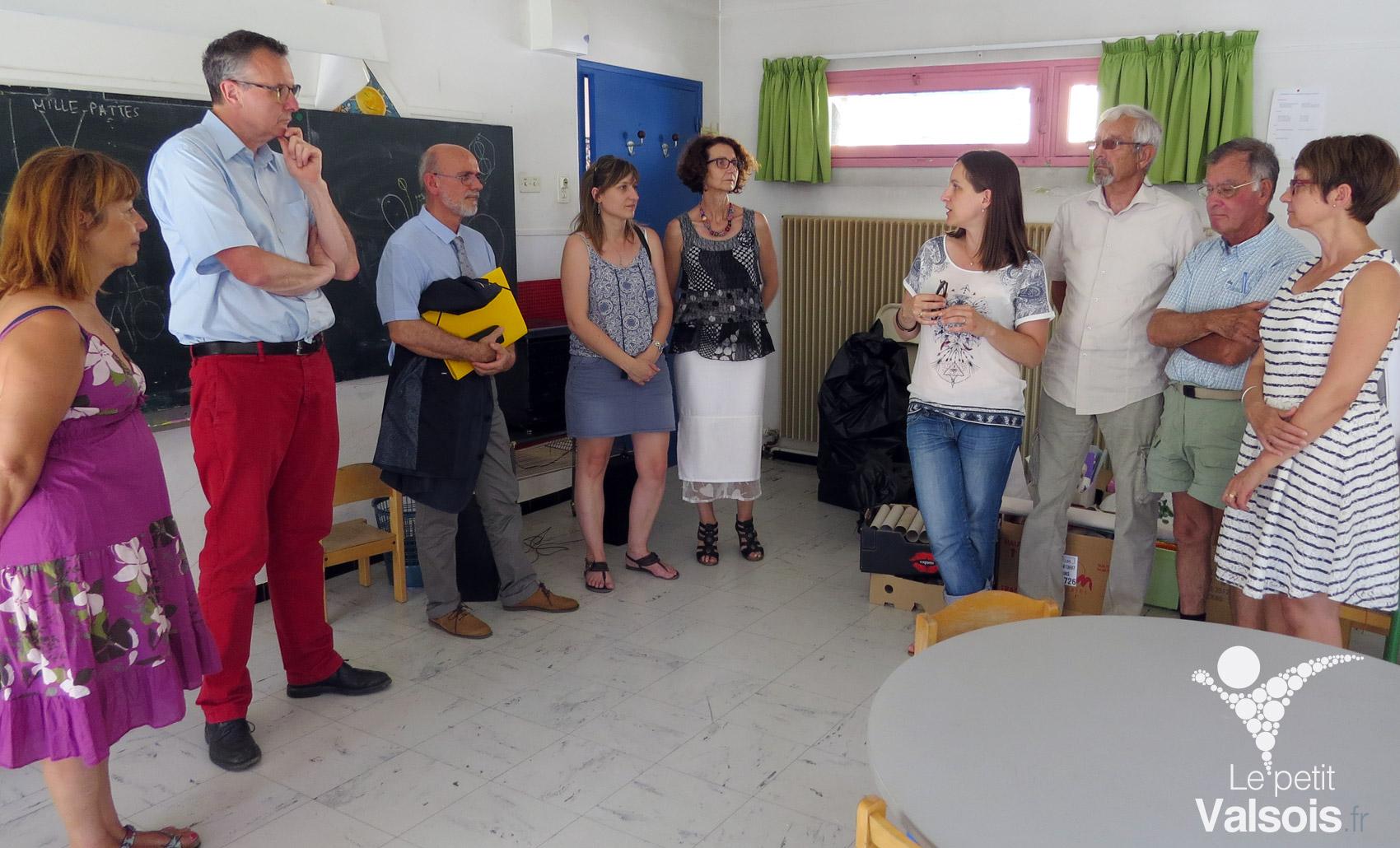 Une classe «autisme» à l'école maternelle publique