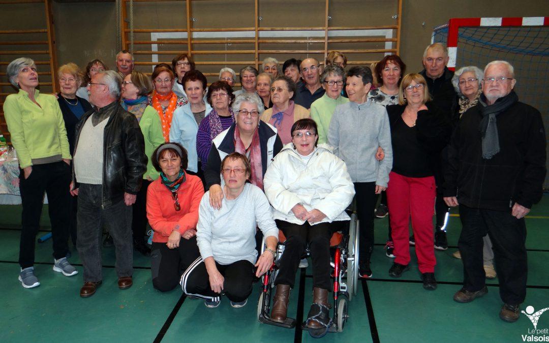 Les voeux 2017 du club de Gymnastique volontaire de Vals-les-Bains