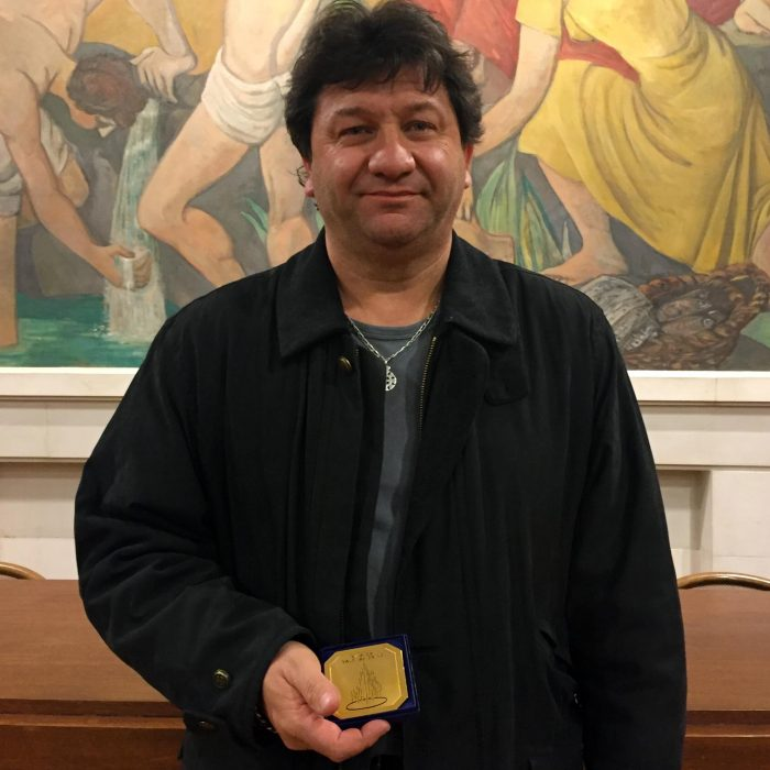 Joël Vialle obtient la médaille d'honneur pour ses 30 ans de service