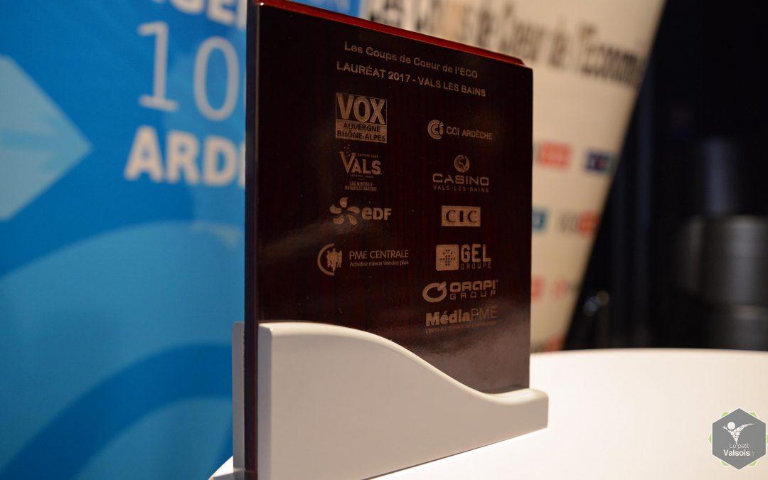 6ème édition des Coups de Cœur de l'Economie – Des entreprises Valsoises sur le podium