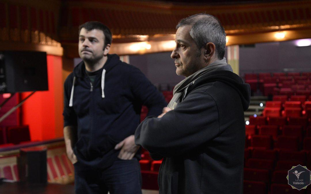 Rencontre avec les régisseurs du théâtre les Quinconces de Vals-les-Bains