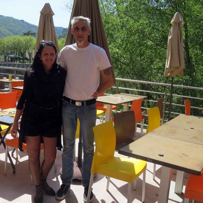 Christine et Frédéric Helmer, gérants du restaurant le Carré des Maîtres