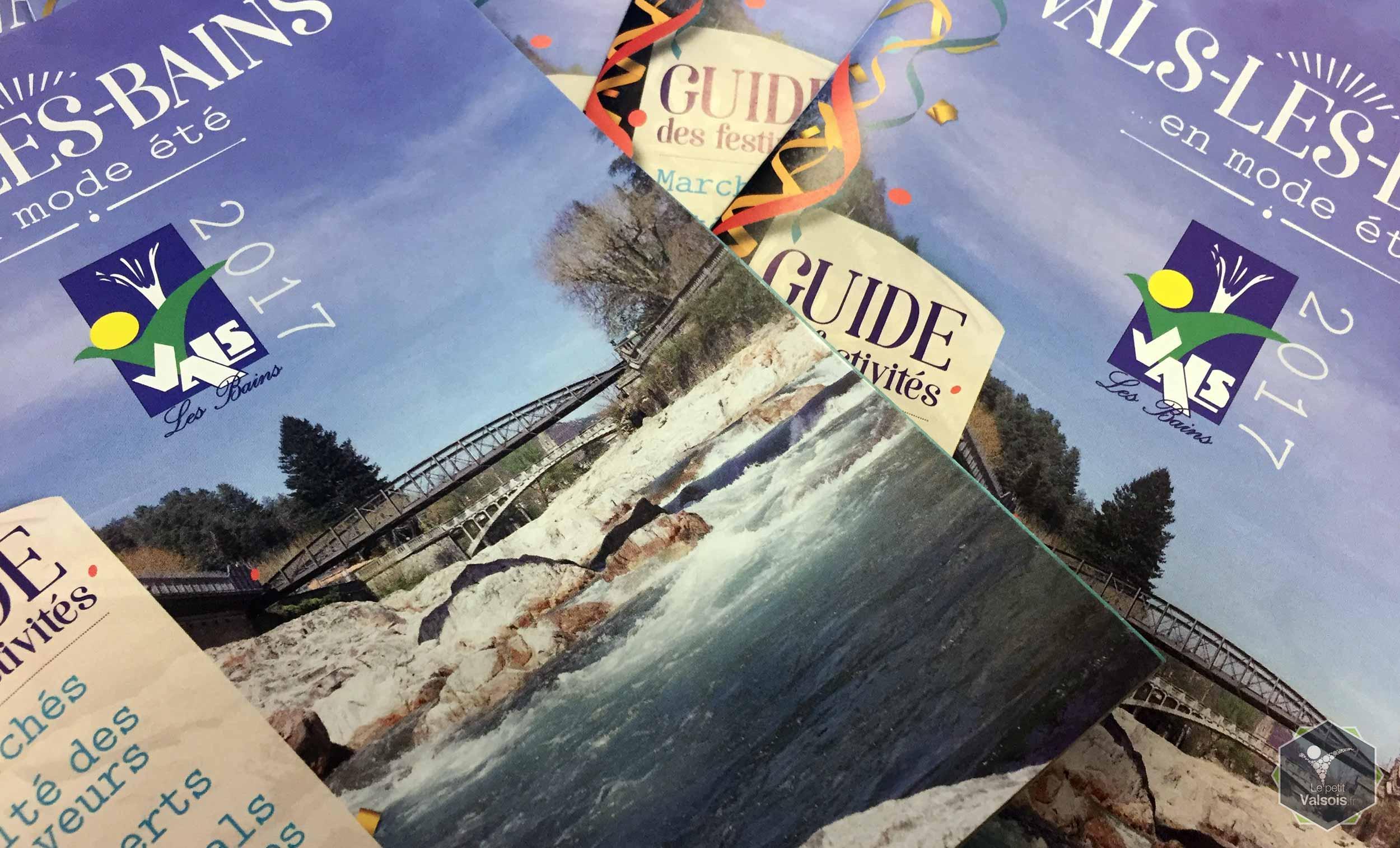 Le guide des festivités 2017 à Vals-les-Bains est désormais disponible !