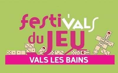 28 ème Festi'vals du Jeu à Vals-les-Bains – 21 & 22 Juillet 2018