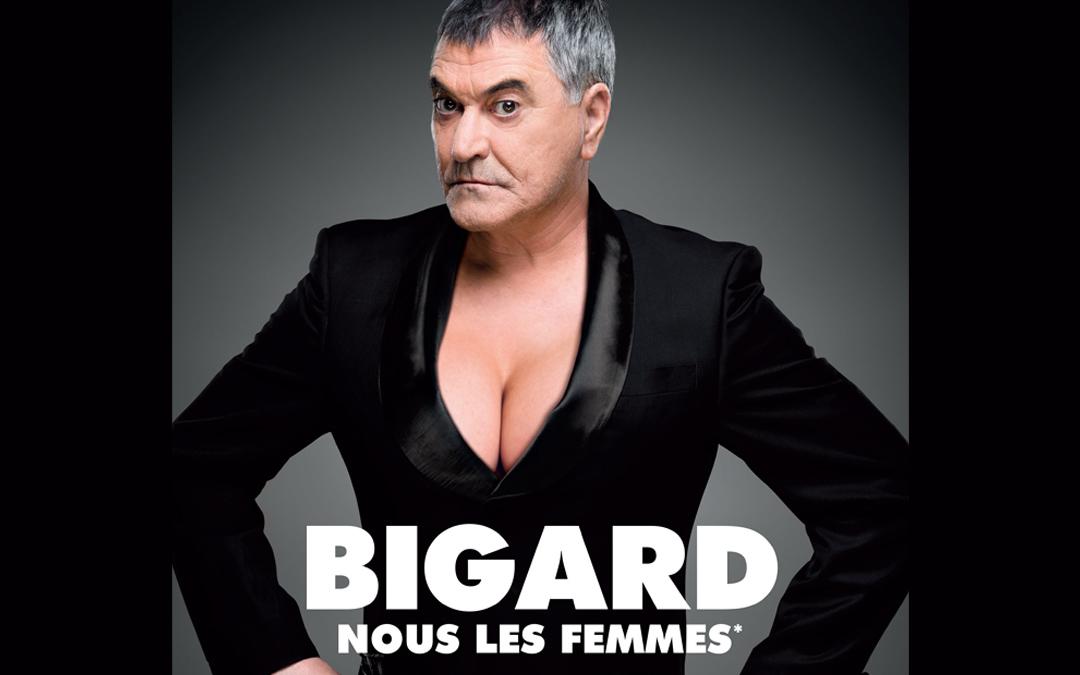 Jean-Marie Bigard au théâtre de Vals les 9 et 10 septembre 2017