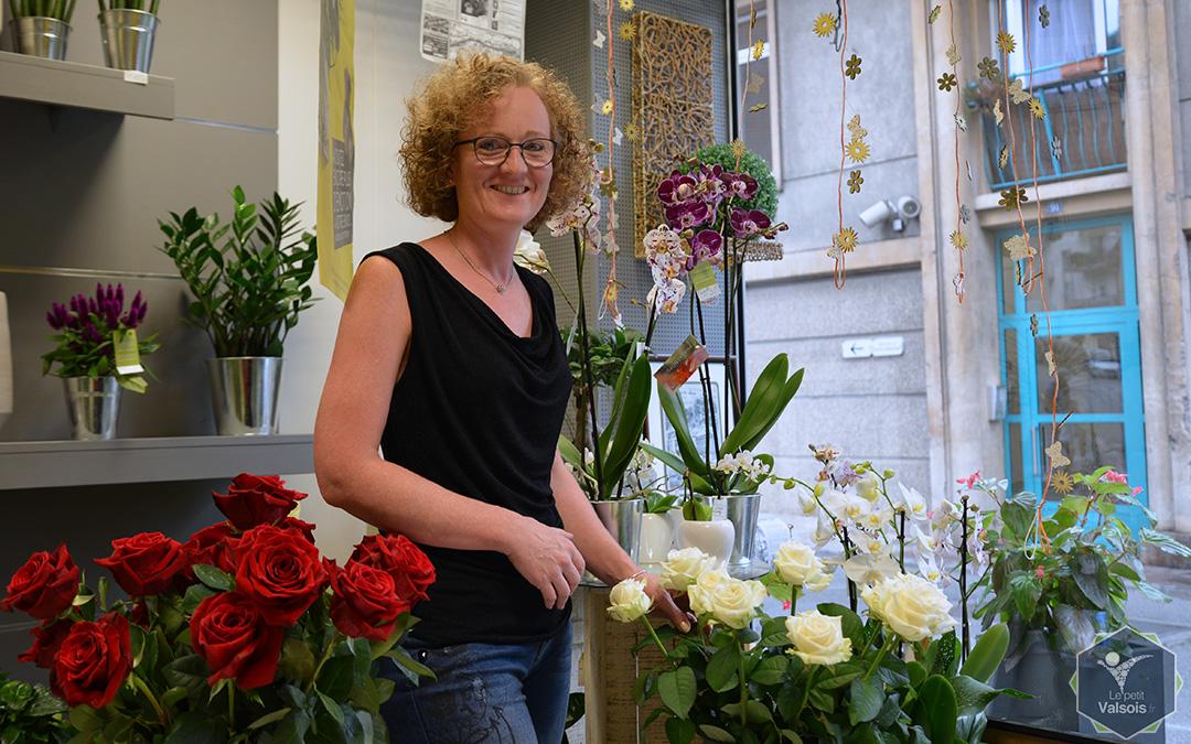 Christine Teston, Fleuriste à Vals-les-Bains depuis 1990