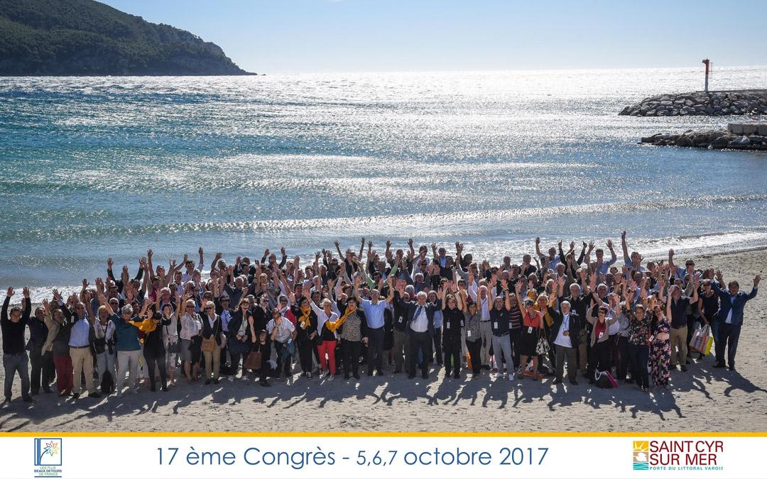 17ème Congrès des Plus Beaux Détours de France à Saint-Cyr-sur-Mer