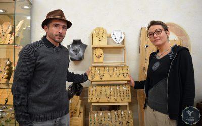 Bistanclak, Artisans verriers
