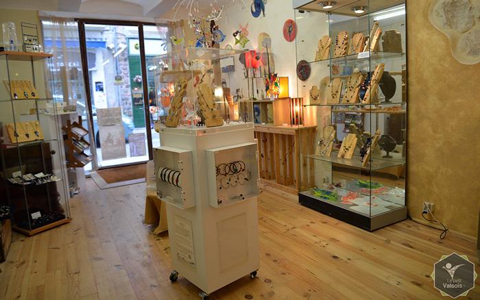Boutique et atelier Bistanclak à Vals-les-Bains