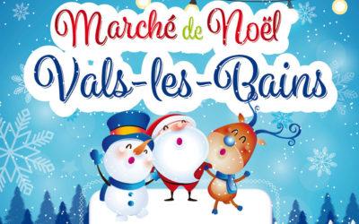 Marché de Noël à Vals-les-Bains – Dimanche 16 décembre 2018