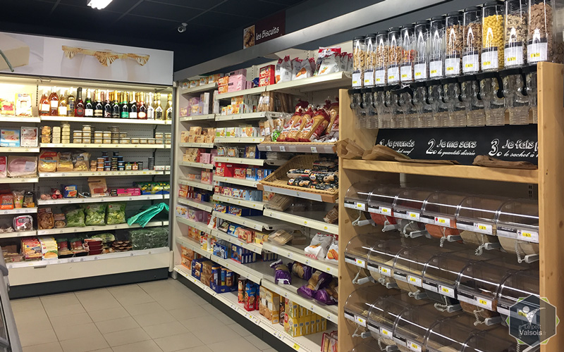 Rayon cocci market Vals-les-Bains