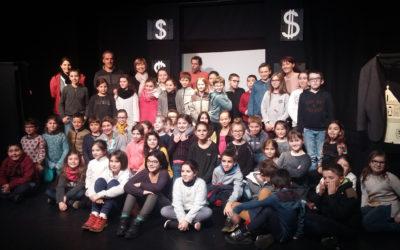 Un projet théâtre pour les élèves de l'école Saint Martin