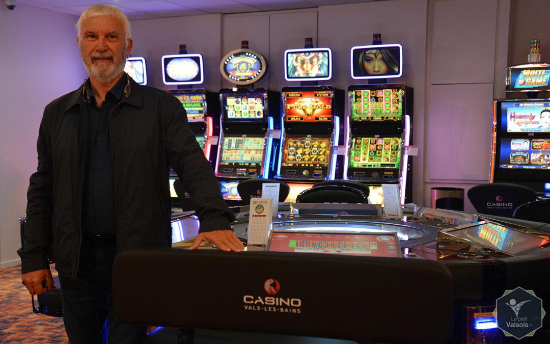 Mathieu Poli et le Casino de Vals-les-Bains