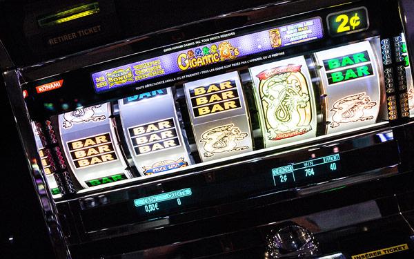 Machine à sous - Casino Vals-les-Bains