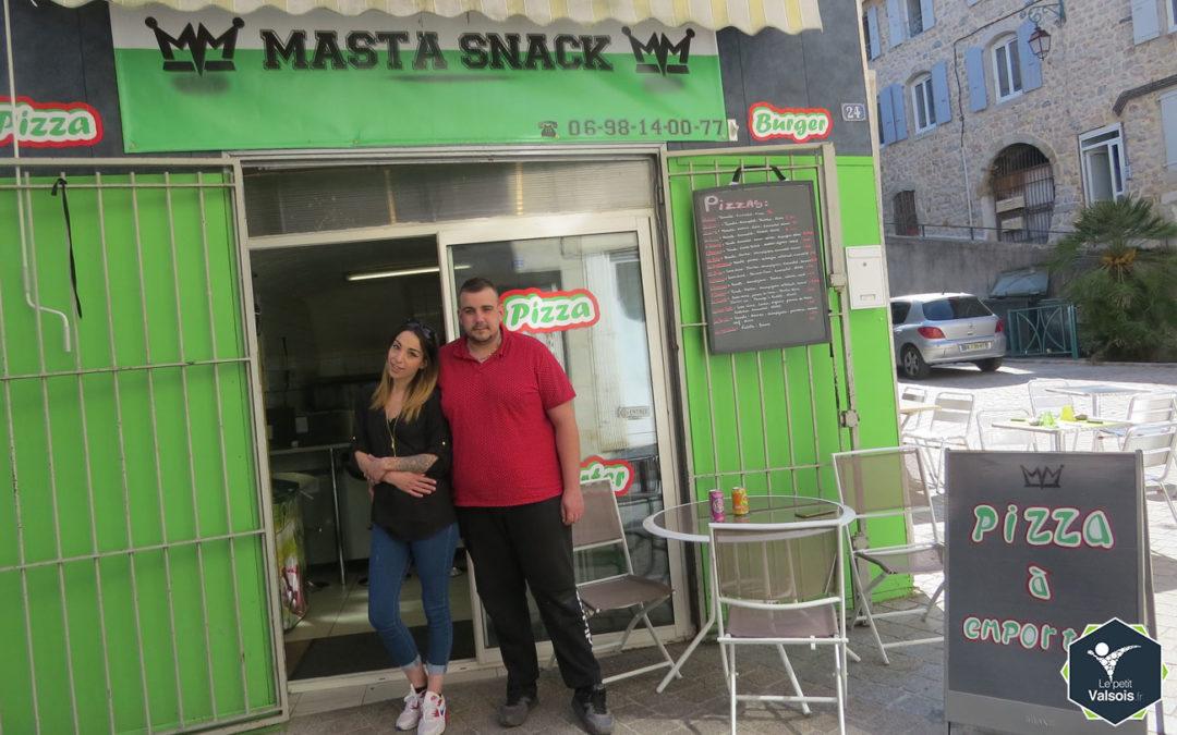 Masta Snack, Pizzas sur place ou à emporter à Vals-les-Bains