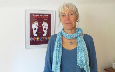 Patricia Bompard, Réflexologue plantaire