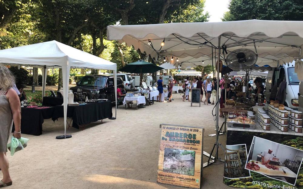 Marché des Artisans et Producteurs Vals-les-Bains