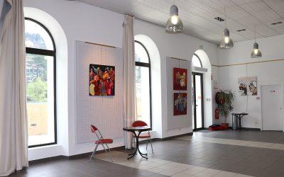 La Salle Volane, un lieu permanent d'exposition
